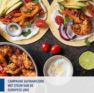 Mini taco's met kipfilet